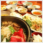 上州すき焼膳